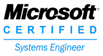 Microsoft Certified Systems Engineer badge